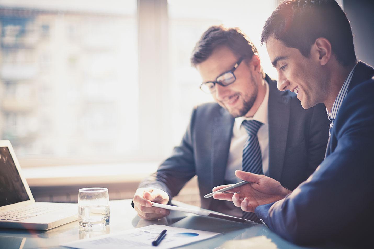 Leistungen und Versicherungen für Firmenkunden